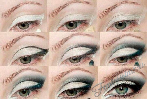 Makyajı gözleri daha büyük yapmak için nasıl kullanılır - profesyonel makyaj sanatçısının ipuçları