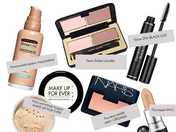 Что нужно для макияжа лица список фото