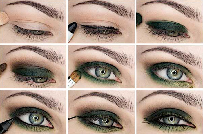 Machiaj Pentru Ochi Verzi Maroniu Cum Să Pictezi Frumos Ochii Cu