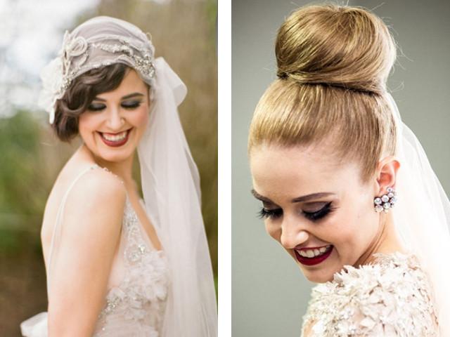 Ideile Coafurilor De Nunta Pe Parul Mediu Coafuri Cu Breton Oblic