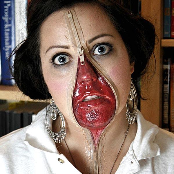 Как сделать своё лицо в красках 169