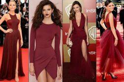 1fdcebf3fdb7e33 Какие туфли подходят под бордовое платье. Короткое бордовое платье ...