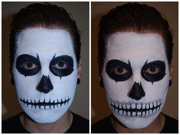 Как сделать своё лицо в красках 5
