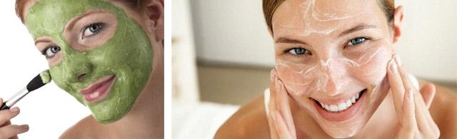 Kuru ciltler için maske kırışıklıklara karşı en iyi çözümdür