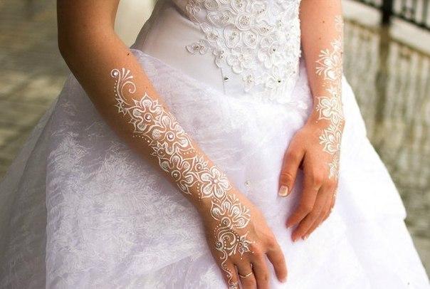 Melukis Dengan Henna Di Tangan